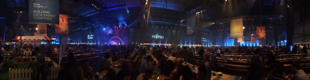 Berlinen, Tempelhof-eko aireportuan, izandako afaria NetApp-en Insight konferentzian.